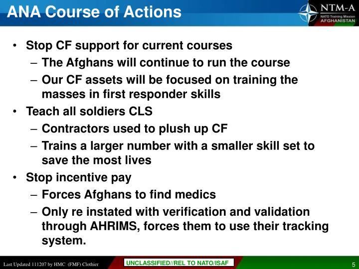 ANA Course