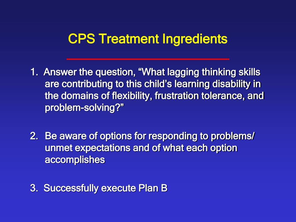 PPT - Collaborative Problem Solving with Explosive Children