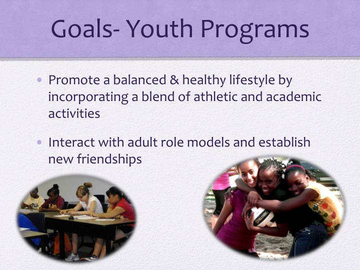Goals youth programs