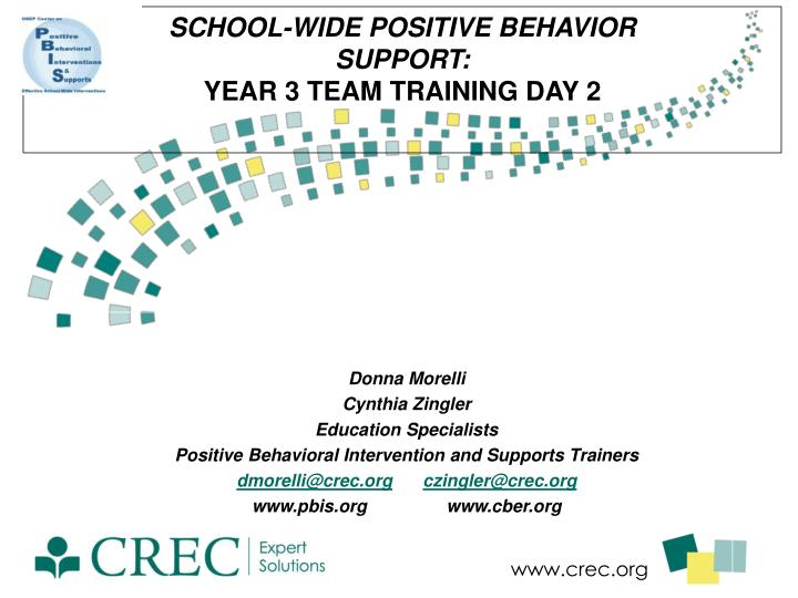 school wide positive behavior support year 3 team training day 2 n.
