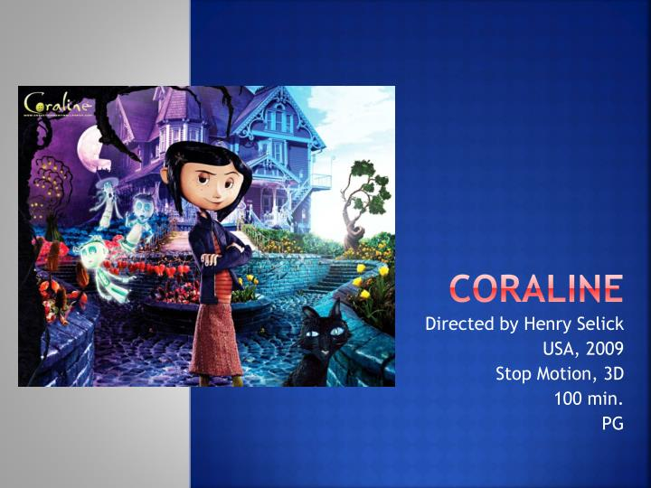 Ppt Coraline Powerpoint Presentation Free Download Id 2016696