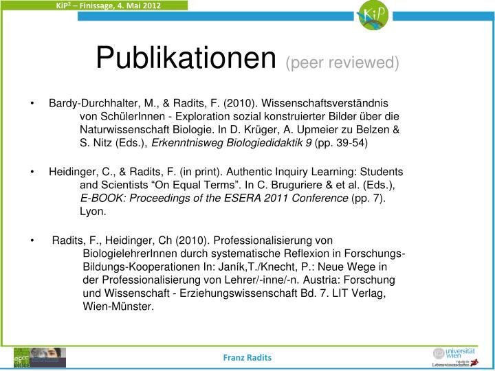 Bardy-Durchhalter, M., & Radits, F. (2010). Wissenschaftsverständnis