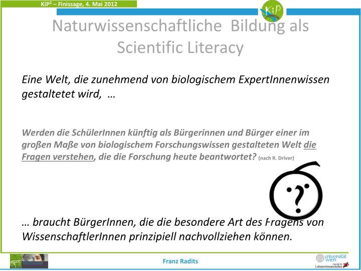 Naturwissenschaftliche