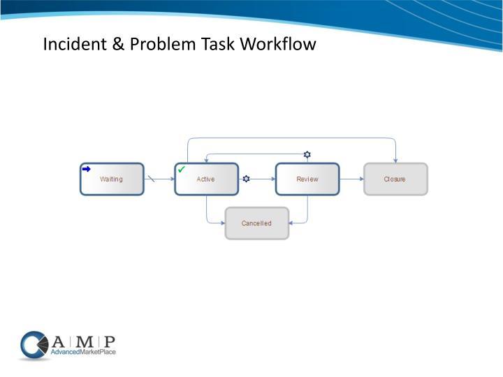 Incident & Problem Task Workflow