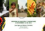 informe de gesti n y financiero a diciembre 31 de 2011