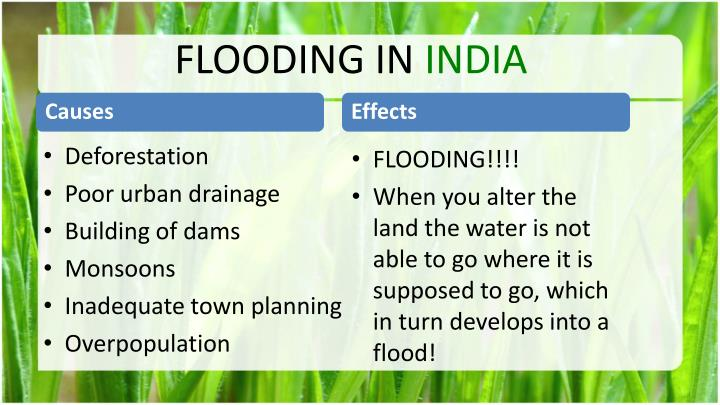 FLOODING IN