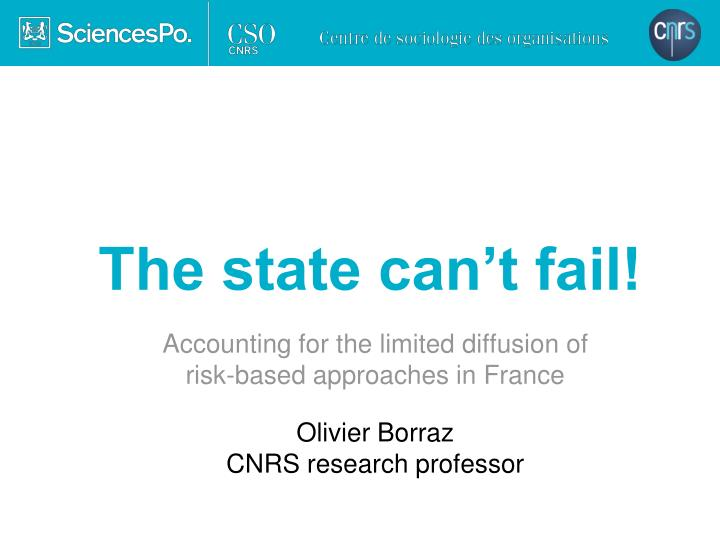 the state can t fail n.