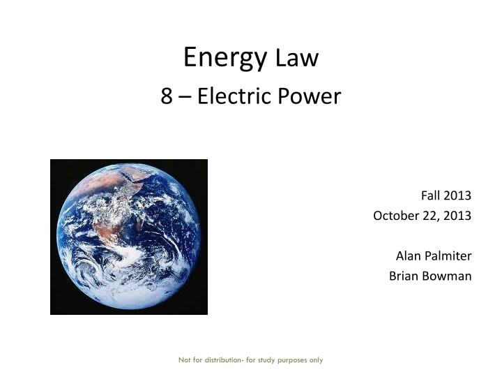 energy law 8 electric power n.