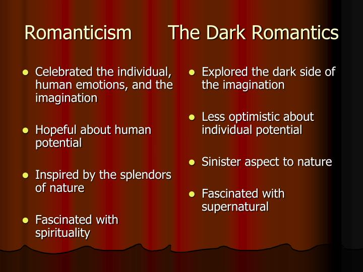 the gothic imagination essays in dark romanticism Romanticism essay - writing a custom  gothic imagination essays in dark romanticism ever seen a world literature of romanticism, even considered in the personal.