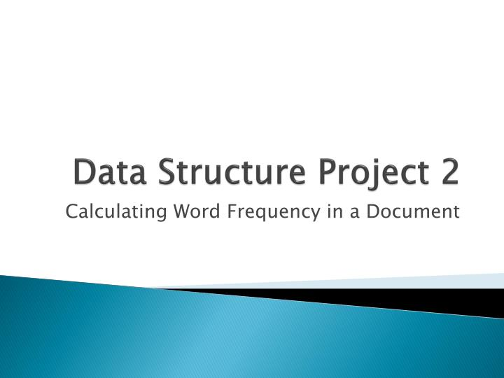 data structure project 2 n.