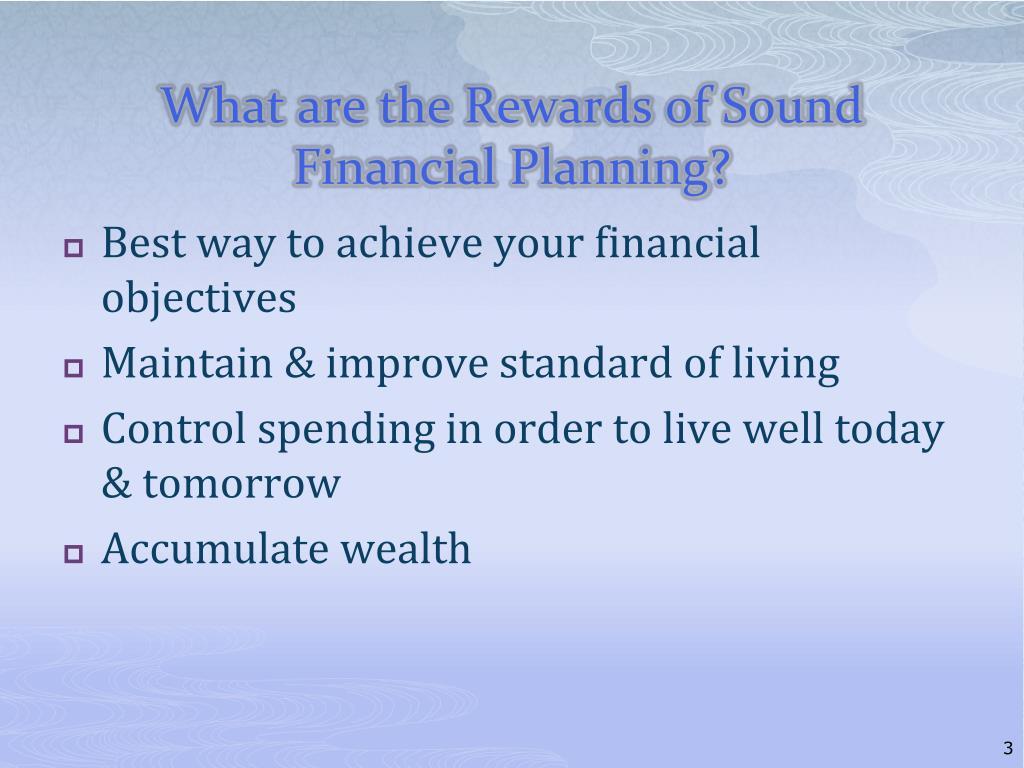 PPT - Understanding the Financial Planning Process