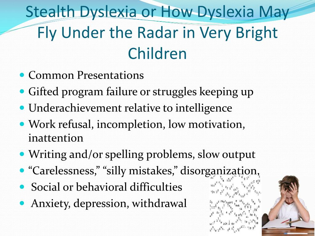 Dyslexia Inattention And Anxiety Mabida >> Ppt Dyslexia Powerpoint Presentation Id 2017735