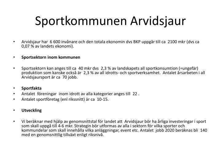 Sportkommunen Arvidsjaur