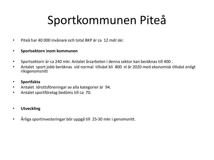 Sportkommunen Piteå