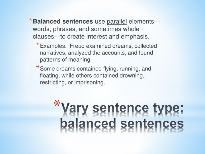 use vary in a sentence