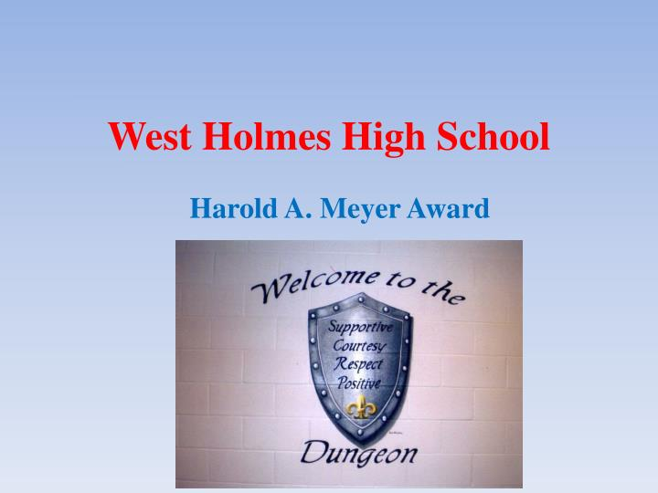 west holmes high school n.
