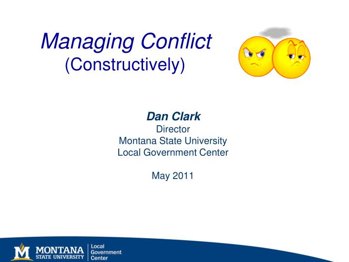 managing conflict constructively n.