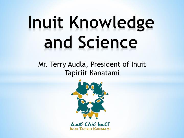 inuit knowledge and science n.