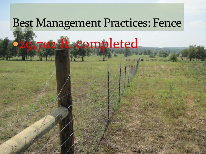 Best Management Practices: Fence