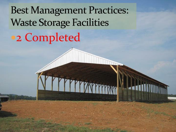 Best Management Practices: