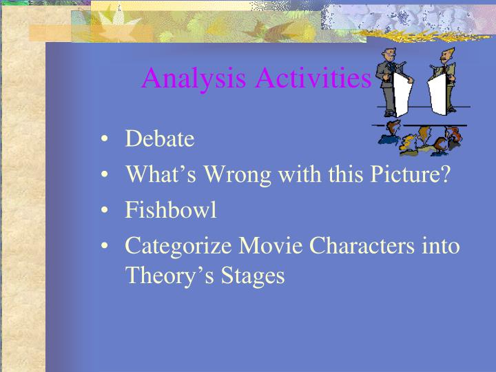 Analysis Activities
