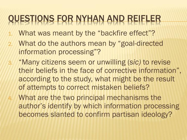 questions for nyhan and reifler n.