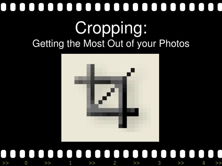 cropping getting the most out of your photos n.