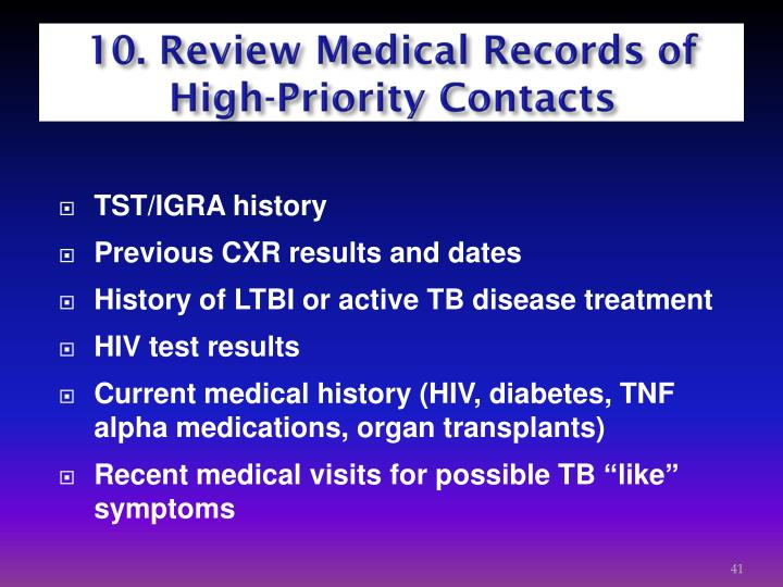 10. Review Medical