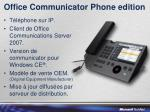 office communicator phone edition