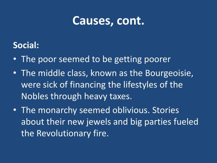 Causes, cont.