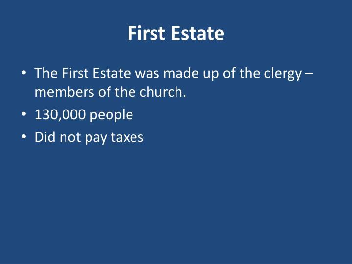 First Estate