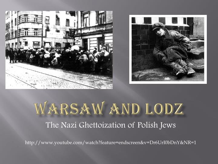 warsaw and lodz n.
