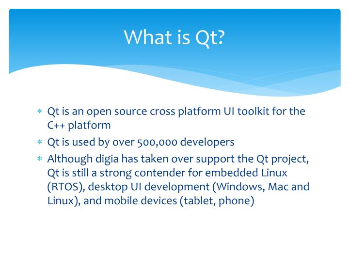 What is Qt?