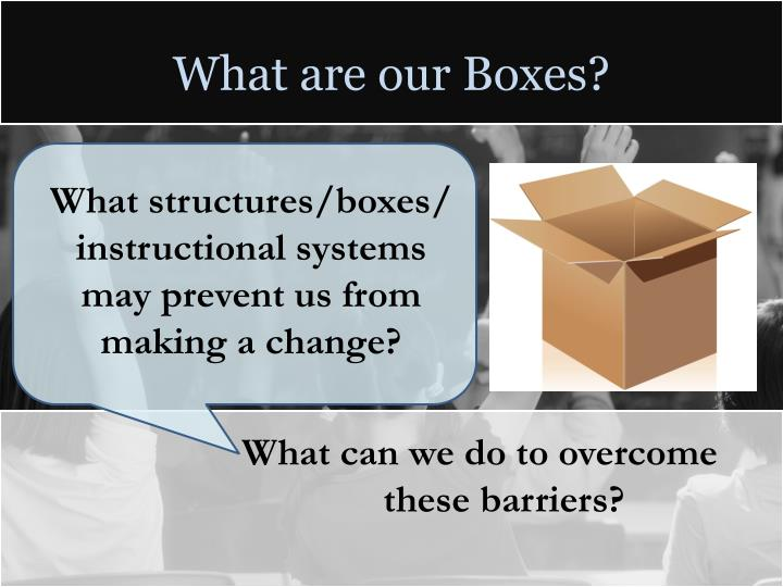 What are our Boxes?