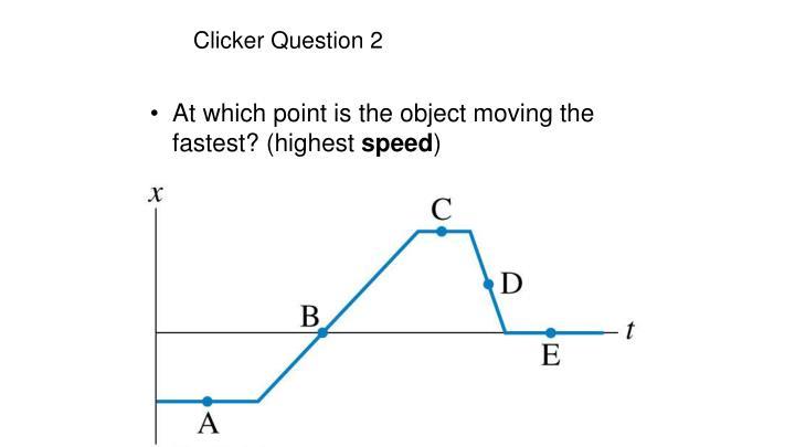 Clicker Question 2