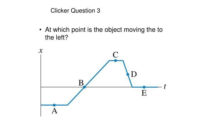 Clicker Question 3