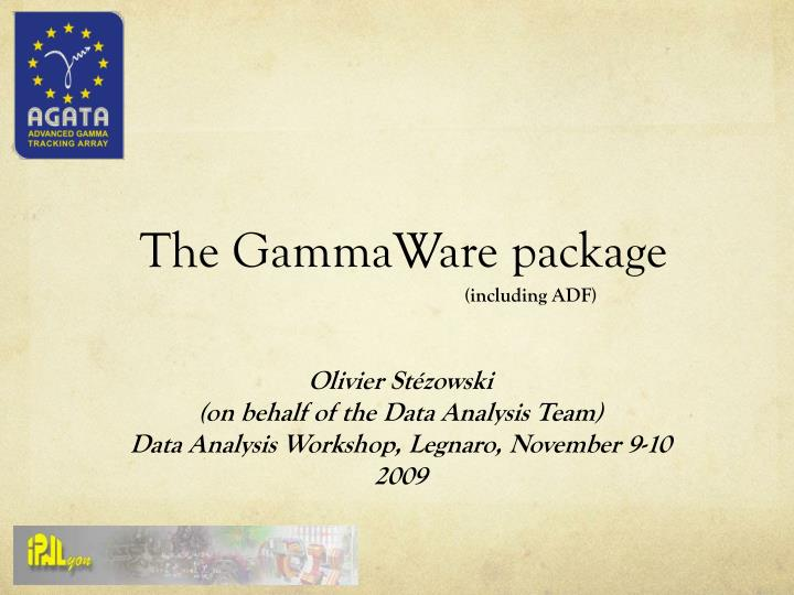 the gammaware package n.