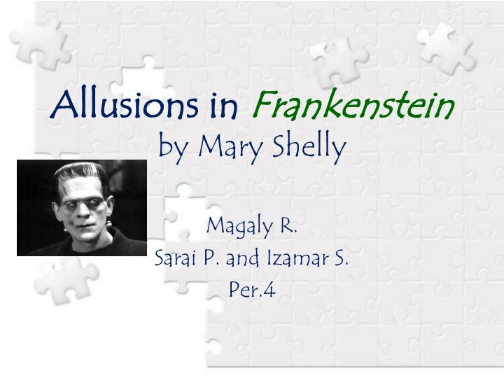 frankenstein mary shelley research paper Essays and criticism on mary shelley's frankenstein - critical essays.