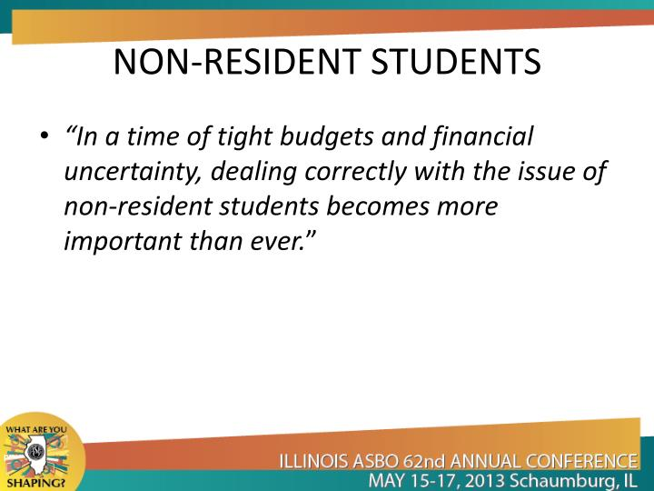 Non resident students1