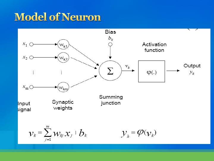 Model of Neuron