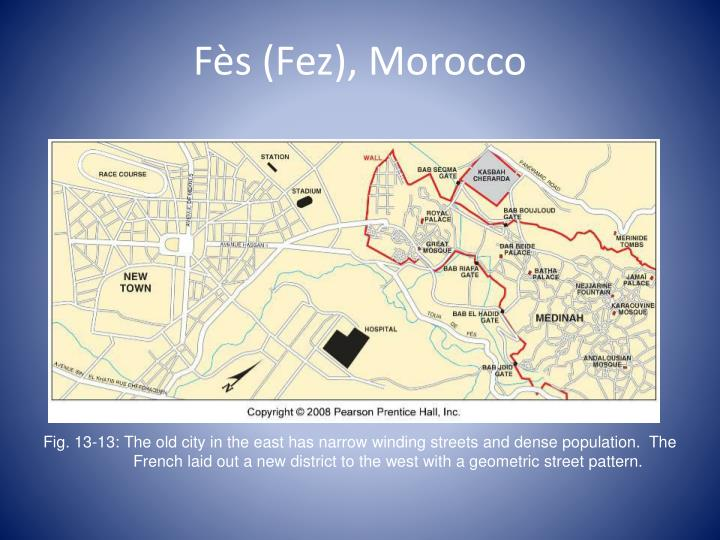 Fès (Fez), Morocco