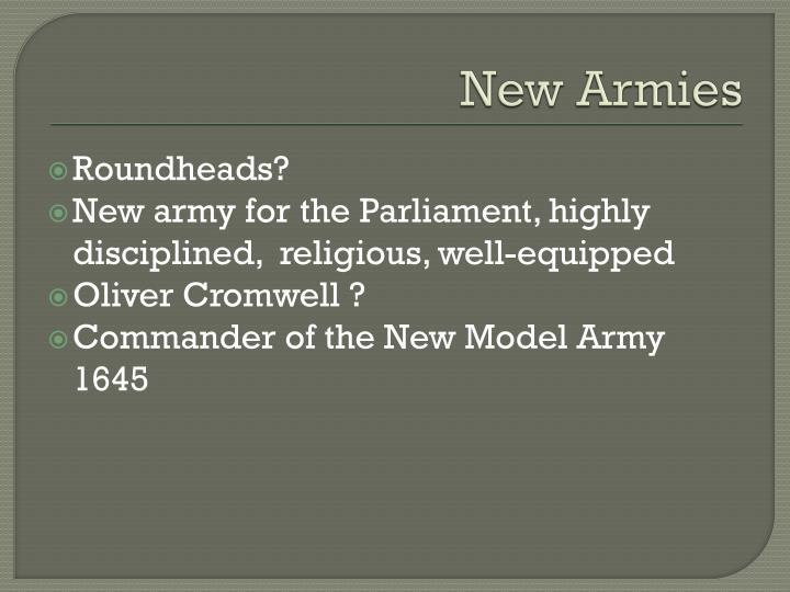 New Armies