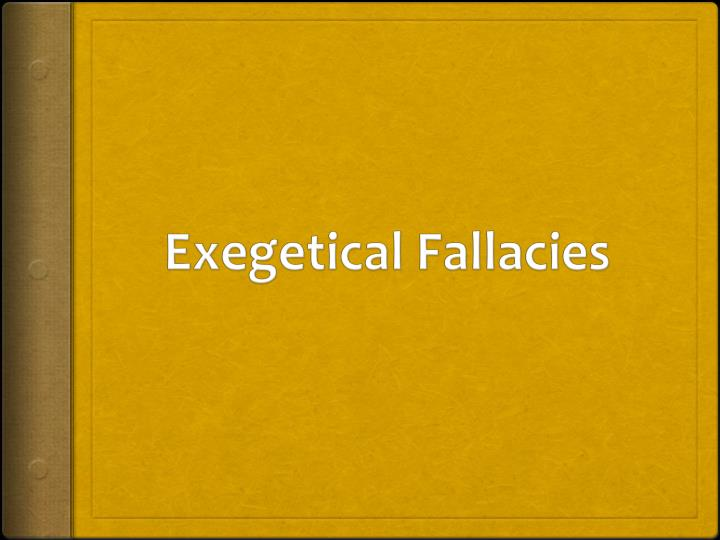 traditional grammar fallacies Grammatical fallacies by douglas moo  grammar is crucial to rightly interpreting any phrase consider the three phrases go for thirty miles, go for some bread, and go for broke the preposition for establishes a grammatical relationship between the imperative verb go and the words that follow this relationship is not the same in these.