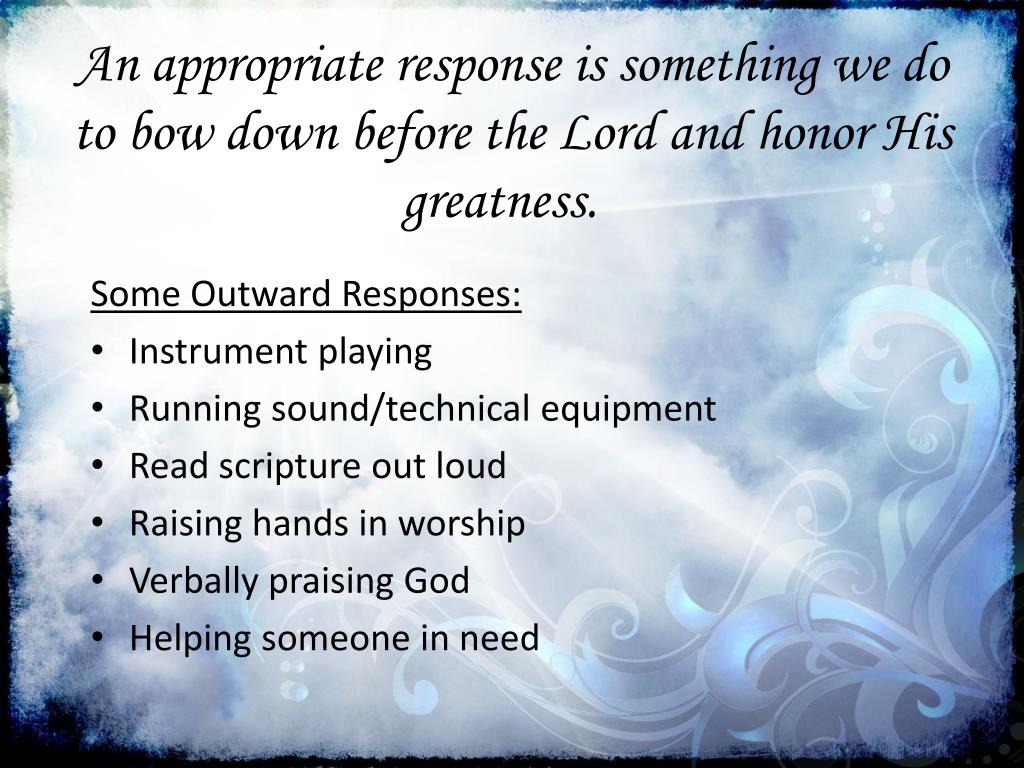 PPT - Worship: Defined & Practiced PowerPoint Presentation - ID:2020076