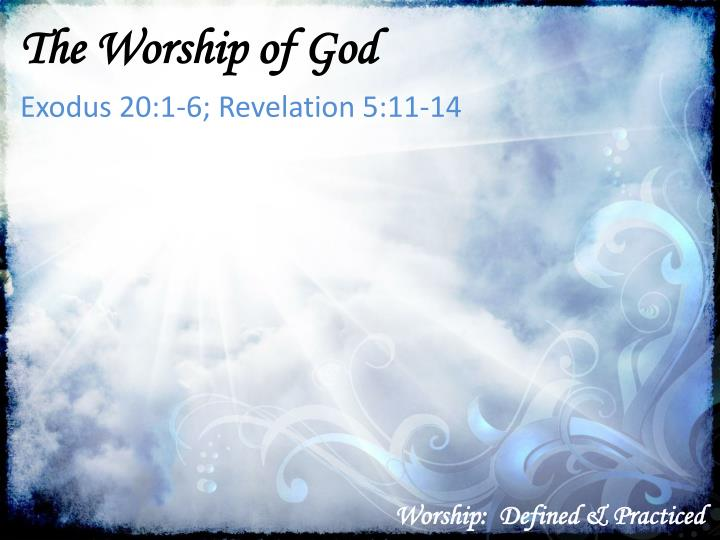 worship defined practiced