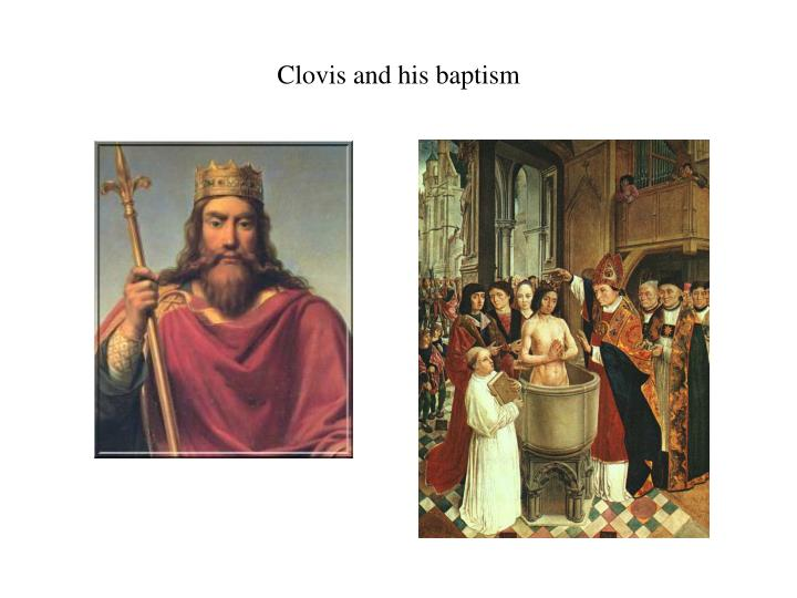 Clovis and his baptism