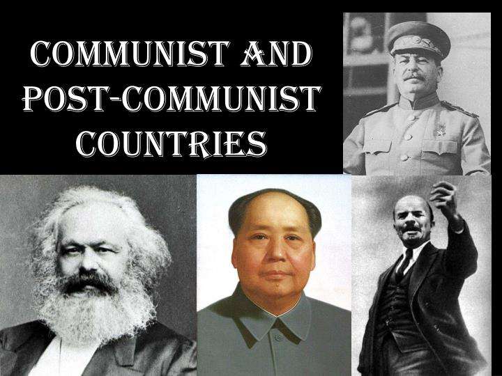communist and post communist countries n.