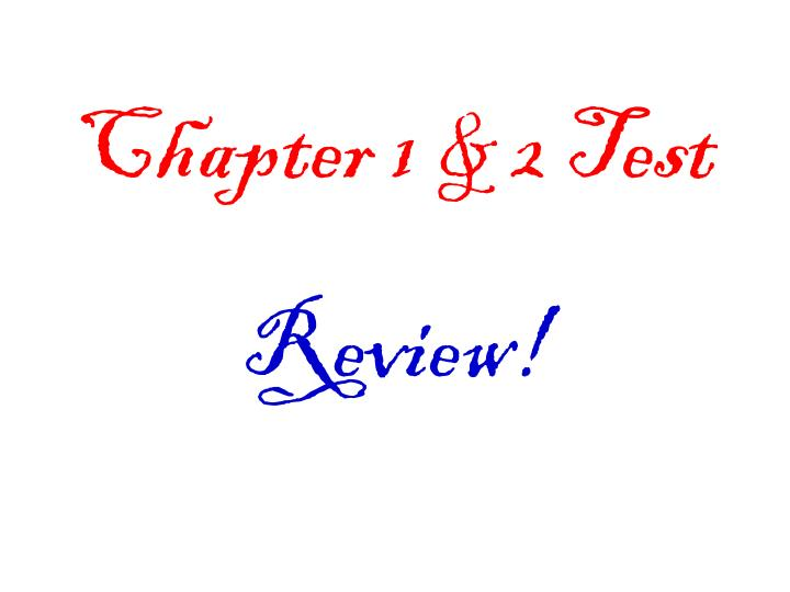 chapter 1 2 test n.