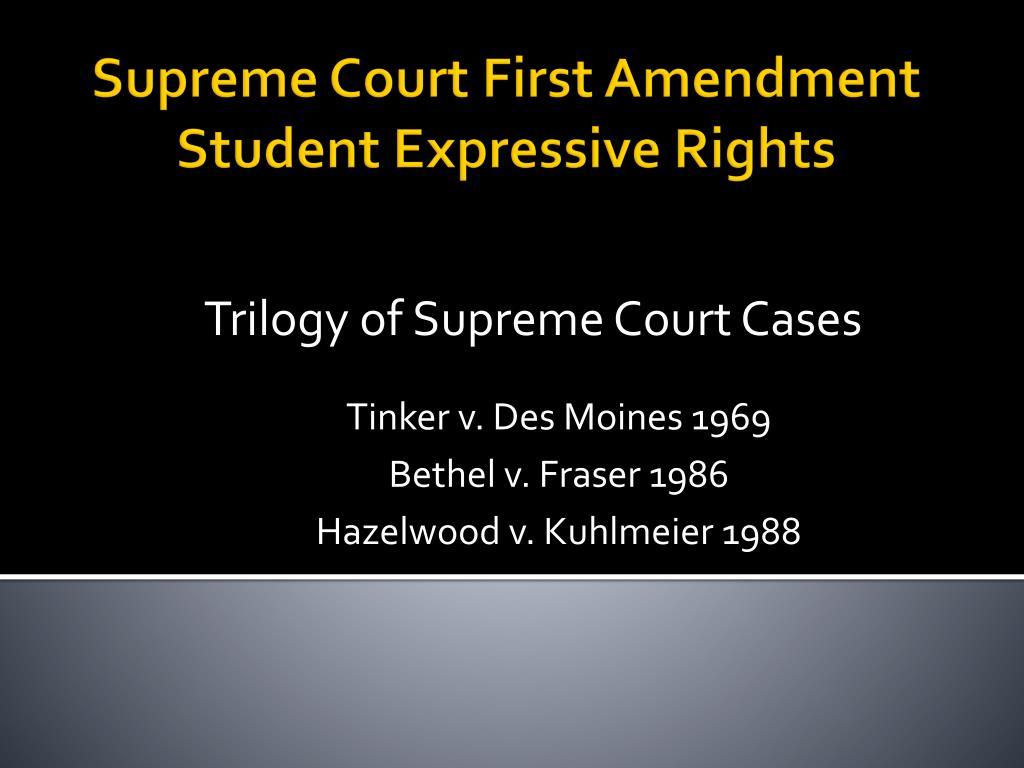 tinker v des moines case summary