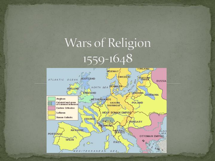 wars of religion 1559 1648 n.